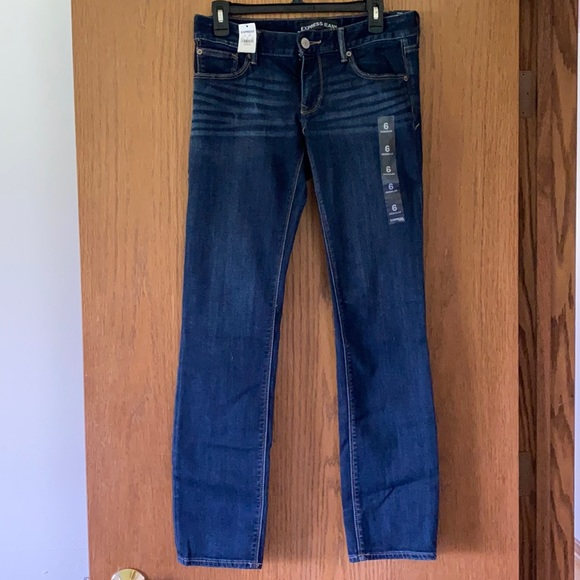 Express Jeans Skinny Low Rise 6R With Tags